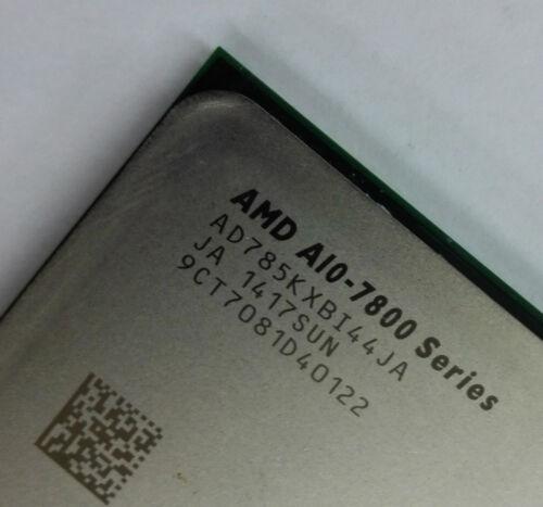 AMD A10-Series A10-7850K  AD785KXBI44JA CPU//FM2+//3.7G unlocked Good condition