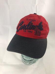 St-Louis-Cardinals-MLB-Baseball-Hat-Vintage-Look-Cap-EUC-New-Era