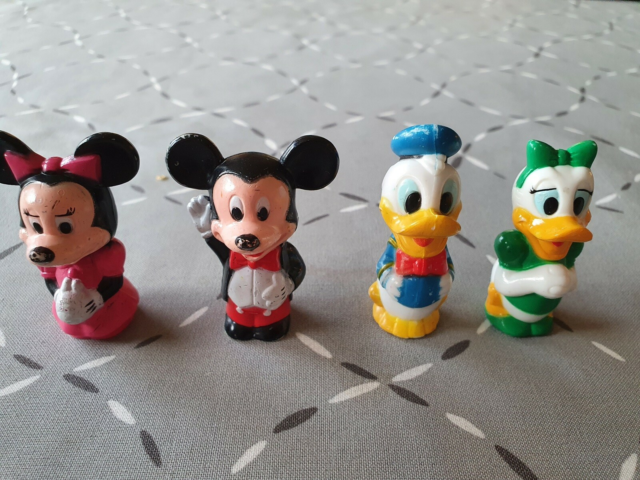 Andre samleobjekter, Disney figurer, Minnie Mouse, Mickey…