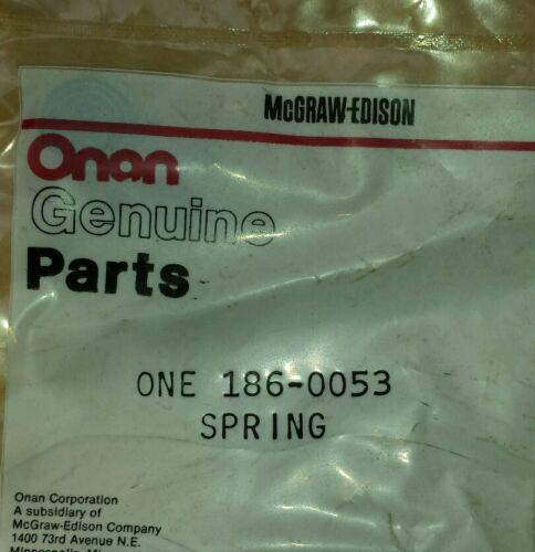 186-0053 Onan Spring Onan Genuine Parts NOS
