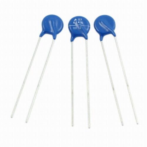 10x Varistor s07k14; 14v 20mw; rm5 d8x3mm; b72207s0140k101