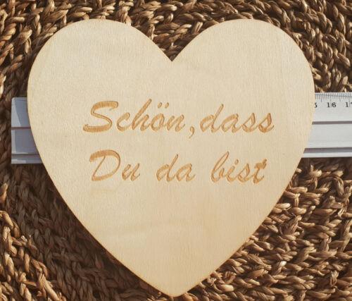 Holz Herzen Streuherzen Herz Dekoration Holz Dekoherzen Hochzeitsdeko Decoupage
