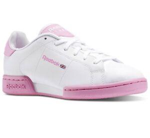 Sneakers-V70397-Zapatillas-Reebok-NPC-II-Blanco-Rosa-Mujer