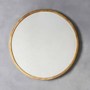 Higgins Large Rustic Metal Antique Gold Round Wall Mirror 31 5 80cm 5055999227872 Ebay
