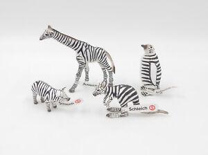 Schleich Animaux Zèbre Motif Spécial Edition 75 Ans Girafe Pingouin Porcelets Kangourou-afficher Le Titre D'origine Znaenyc0-07184140-718027177