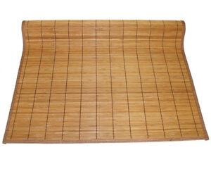 "4'x8' 48""x96"" Brown Bamboo Floor Mat Area Rug Tatami ..."