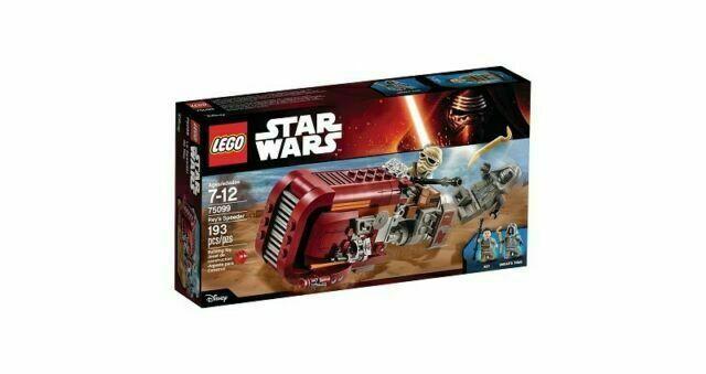Lego Star Wars Rey/'s Speeder 75099 2015