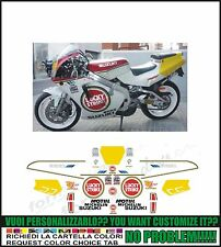 kit adesivi stickers compatibili rgv 250 gamma 1991 - 1995 vj22 team L Strike