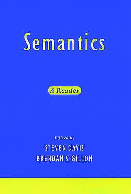 Semantics: A Reader, , Used; Very Good Book