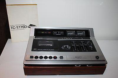 Sony TC-177SD stereo cassette-corder
