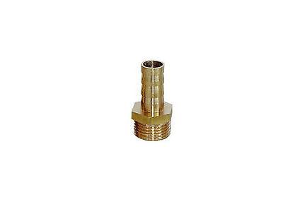 """5pcs 1/8"""" BSP Male-6mm Barb Hose Brass Adapter Coupler 6mm-1/8"""" BSP"""