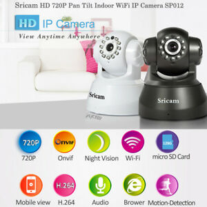 Sricam-SP012-720P-H-264-Wifi-Wireless-ONVIF-Security-IP-Camera-Two-way-Voice-FC