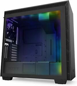 NZXT-H710i-Black-RGB-ATX-Mid-Mid-Tower-Case-Tempered-Glass-Desktop-Computer-Case