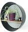 Vintage-Industrial-Style-Round-Metal-Wall-Shelf-Unit-Storage-Display-Cabinet Indexbild 1