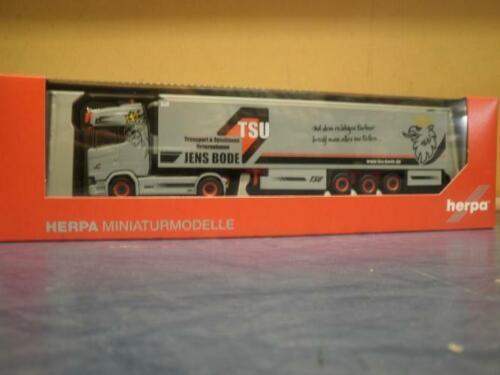 Kühl-KSZ TSU Jens Bode 308809 Herpa LKW Scania CS 20 Topl//Aerop