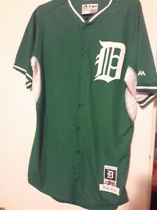 Anibal Sanchez Game Worn Detroit Tigers St. Patricks Day Jersey Tigers COA