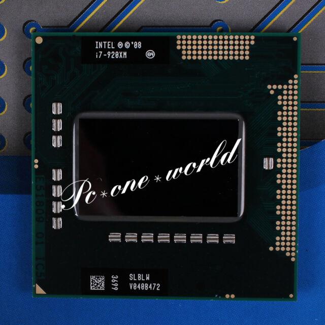 100% OK SLBLW Intel Core i7-920XM 2 GHz Quad-Core Laptop Processor CPU