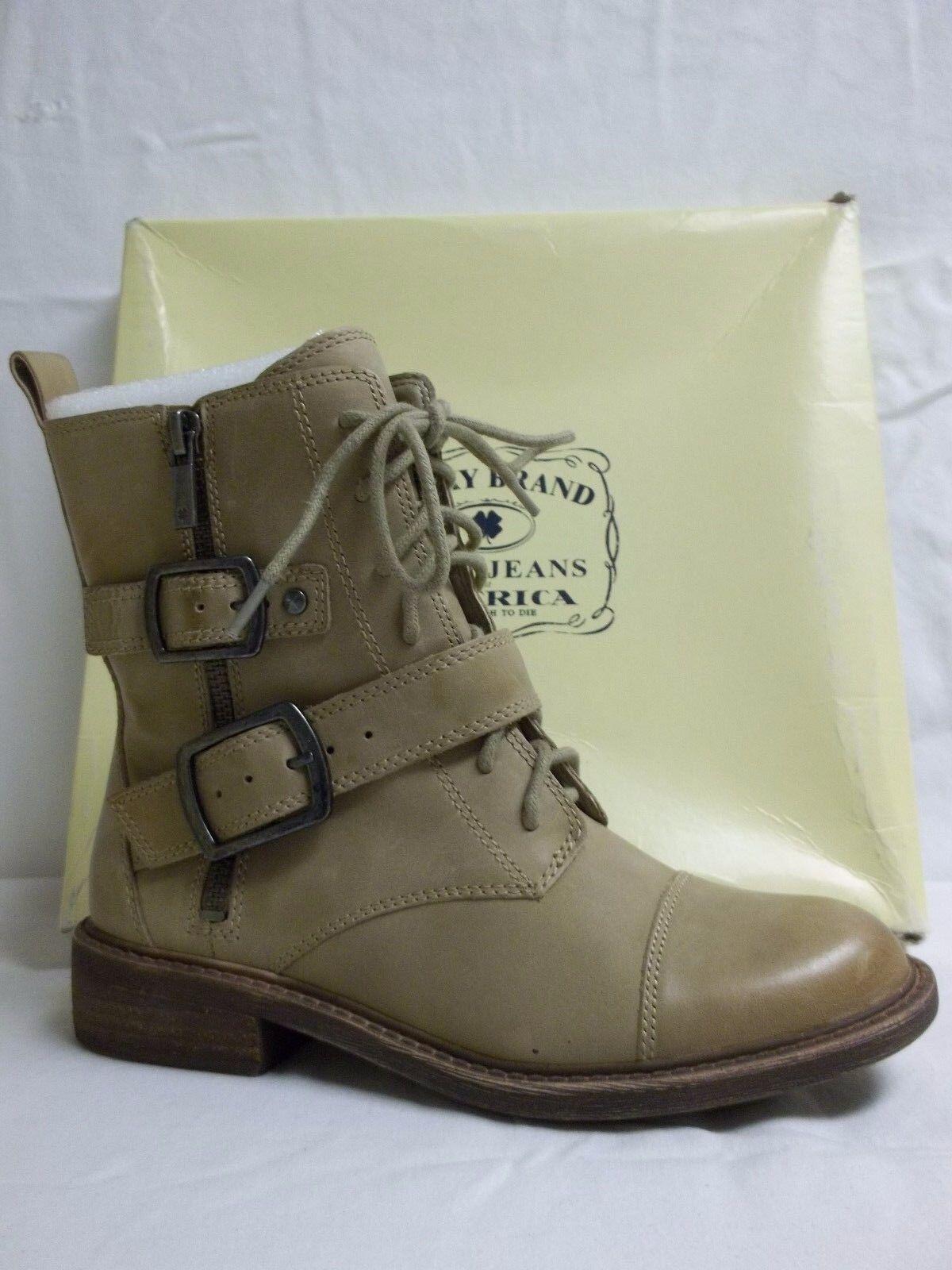 Lucky Brand Größe 5.5 M Nolan Chinchilla Leder Ankle Stiefel NEU Damenschuhe Schuhes