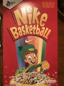 best website 8e532 5ce07 Details about Nike Kyrie Irving 4 Cereal Pack Lucky Charms (Special Cereal  Box Package) 10 DS