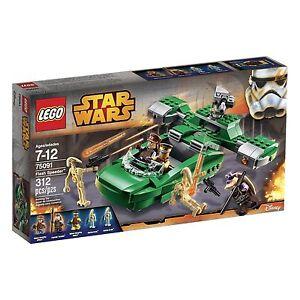 LEGO-Star-Wars-75091-Flash-Speeder-75091-5-Minifigures-Brand-New-Factory-Sealed