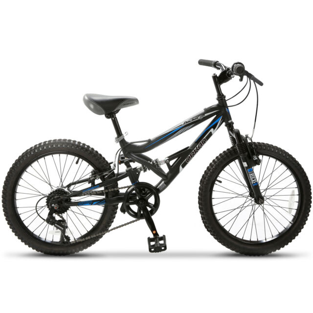 "20"" Teen Kids Children Mountain Bike 7 Speed Bicycle Shimano Full Suspension"