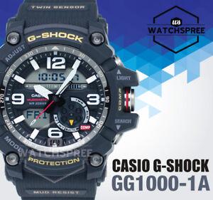 Casio G-shock MUDMASTER Military With Twin Sensors Watch Gg1000-1a