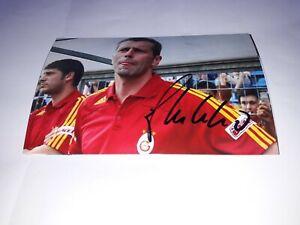 Firmado-Foto-Michael-Skibbe-Galatasaray-Estambul-Nuevo-Mega-Rareza