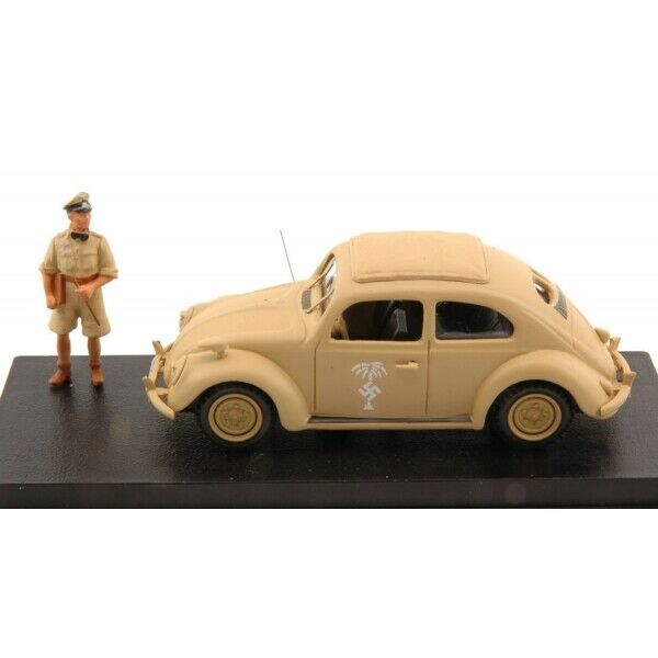 Mmrio 4471-vw Africa Korps 1941 + Rommel 1 43 Figure Model RC Car