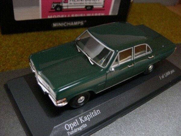 1 43 Minichamps Opel Kapitän 1964 green 400 048001
