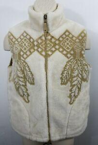 Milton-Funwear-S-Full-Zip-Southwestern-Cowboy-feather-native-Coat-Acrylic-995