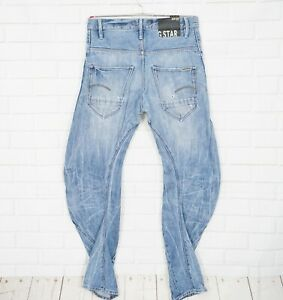 G-Star-Herren-Jeans-Gr-W30-L34-Modell-ARC-3D-Loose-Tapered-Braces