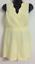NEW Ex Miss Selfridge Petite Lemon Scallop Trendy Playsuit Jumpsuit Size 6-14