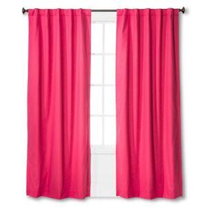 Pillowfort Twill Light Blocking 1 Curtain Window Panel 84