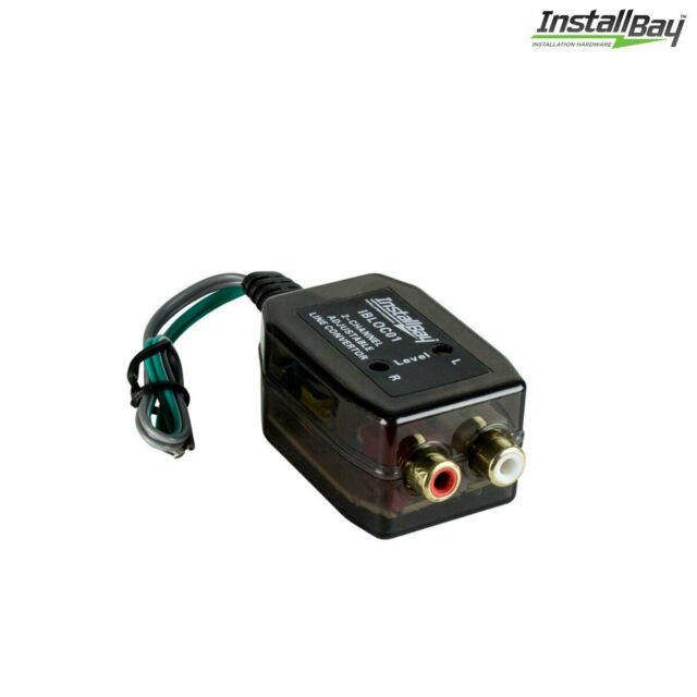 PAC 4 channel adjustable high power line level converter lp3-4 high to low rca