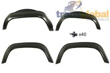 ALO710010 Land Rover Defender Rear Gloss Black Wheel Arch Spat Bearmach