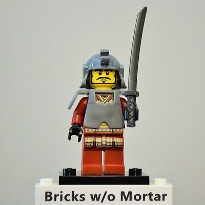 SAMURI WARRIOR New Out of Package LEGO 8803 Series 3 Minifigure