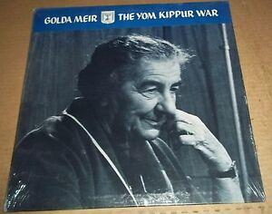 GOLDA MEIR - The Yom Kippur War (Nov. 2, 1973) SEALED | eBay