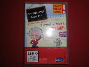 Lernspaß mit Albert E.- Lernsoftware für Grundschüler 1.+2.. Klasse Englisch NEU - Salzland, Deutschland - Lernspaß mit Albert E.- Lernsoftware für Grundschüler 1.+2.. Klasse Englisch NEU - Salzland, Deutschland