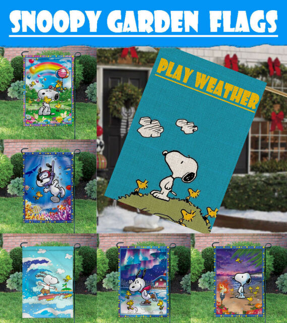 Outdoor Yard Decor Summer Fun 12X18 Inch Banner//Sign Double-sided Garden Flags