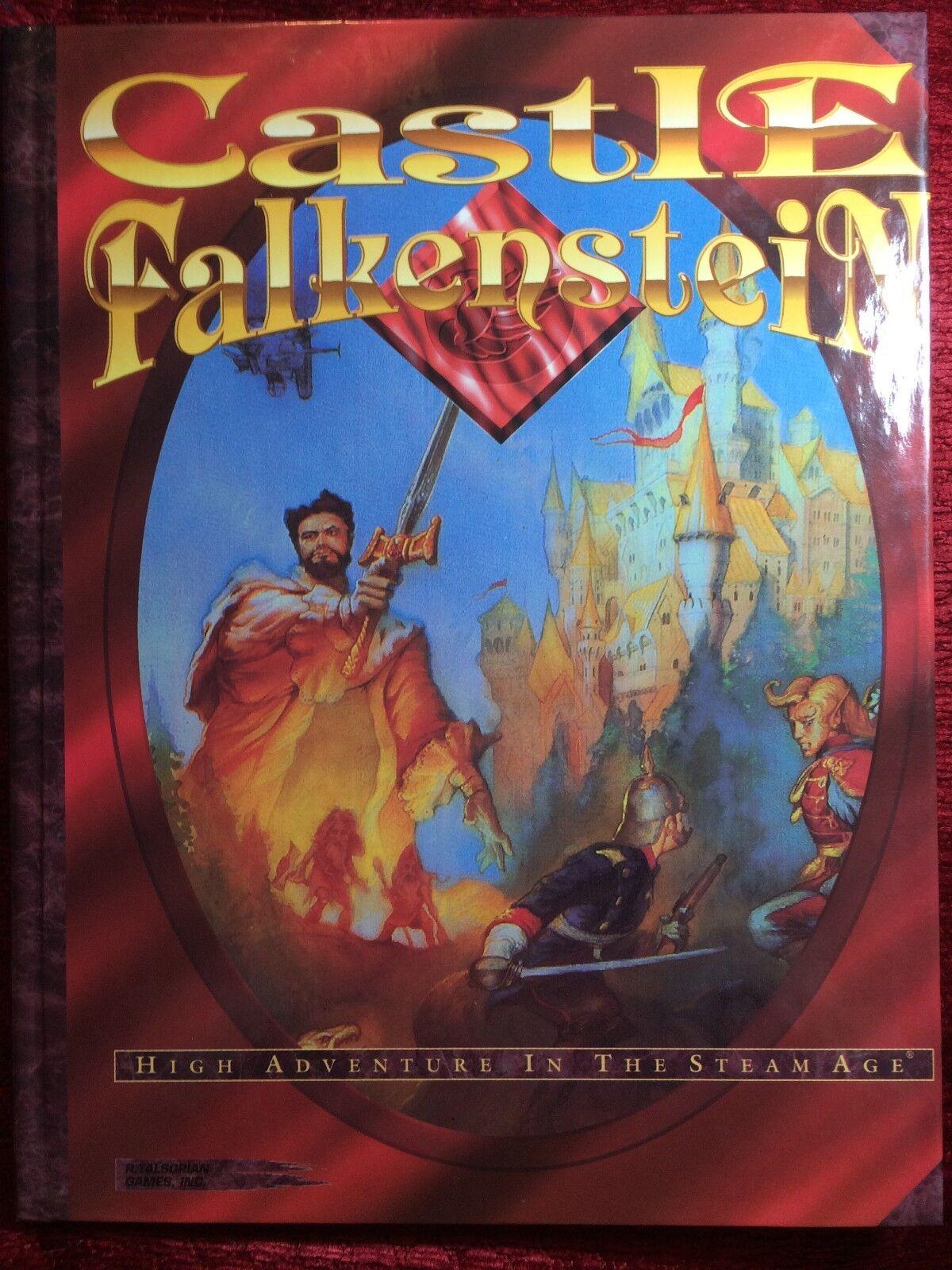 Castle Falkenstein - R. Talsorian Games - Hardcover - NEW