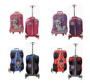 Kinderkoffer-3D-Design-kindertrolley-3-Rad-Trolleys-Reisekoffer-Koffer