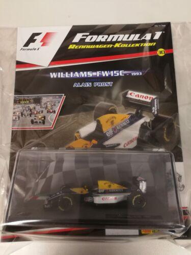 Formel 1 Williams FW15C Alan Prost Ausgabe 30