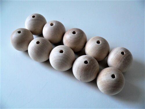 /> 50 mm HQ 100/% of Natural Beech Wood  10 mm Natural Wooden Balls  Beads