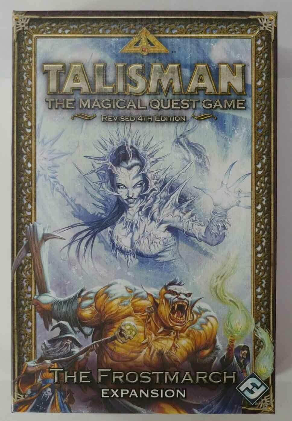 Talisman The Frostmarch Expansion by Fantasy Flight Games