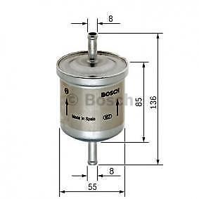 FILTRO CARBURANTE filtro gasolio smart fortwo//cabrio 0.8 cdi 1999-2007