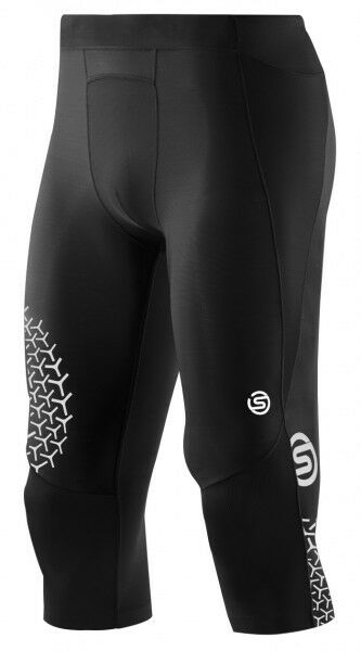 SKINS Mens Starlight A400 Compression 3 4 Tights Running Exercise