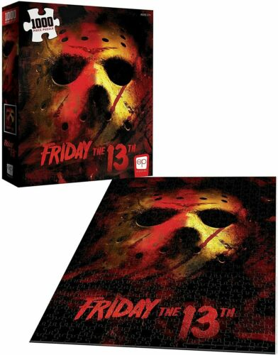 Friday-the-13th-1000-Piece-Puzzle-Brand-New-OP-Puzzles-19x27-inch