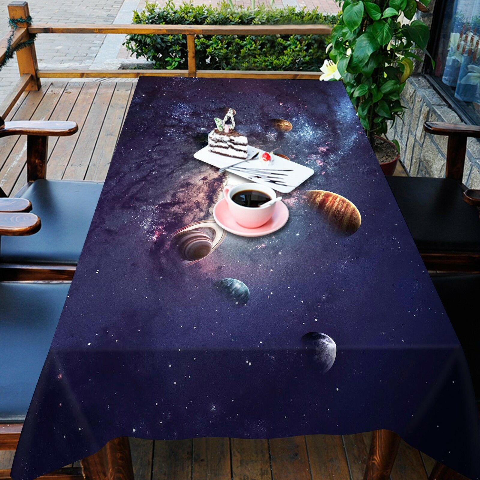 3D Glaxy 862 Tablecloth Table Cover Cloth Birthday Party Event AJ WALLPAPER AU