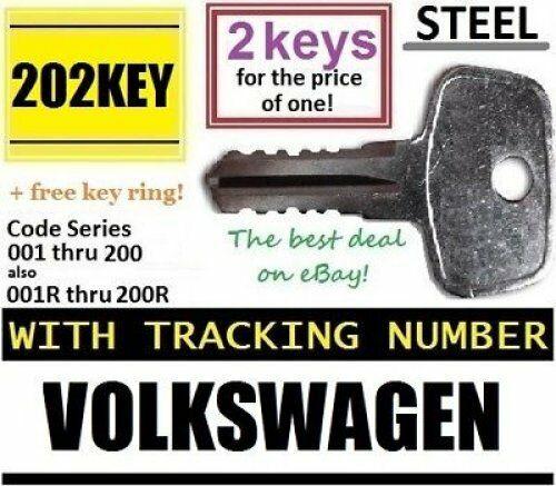 2 VW Volkswagen Car Ski ROOF RACK Keys Lock Bicycle Hauler Snowboard Carrier SUV
