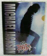 Michael Jackson Bad 25 Taiwan Promo Folder (Clear File)